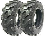Set of 2 New ZEEMAX Heavy Duty 12.5/80-18 /12PR Skid Steer Backhoe Loader Tire -12004