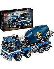 LEGO Technic Betoniarka 42112 (1163 elementy) — doskonały prezent dla dzieci, które uwielbiają zabawki budowlane