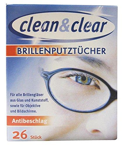 Clean y Clear toallitas húmedas antivaho, embalados individualmente - 26 pcs: Amazon.es: Hogar