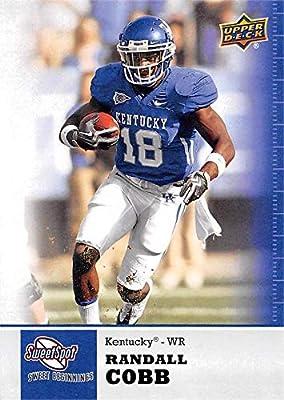 Randall Cobb football card (Kentucky Wildcats) 2011 Upper Deck Sweet Spot Rookie #84