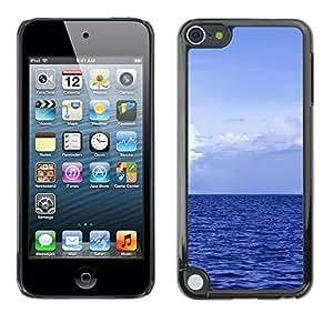 Paccase / SLIM PC / Aliminium Casa Carcasa Funda Case Cover - Blue Ocean - Apple iPod Touch 5