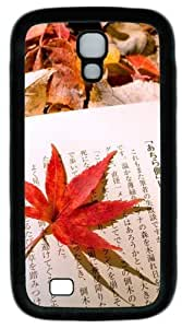 Books TPU Case Cover for Samsung Galaxy S4 and Samsung Galaxy I9500 Black