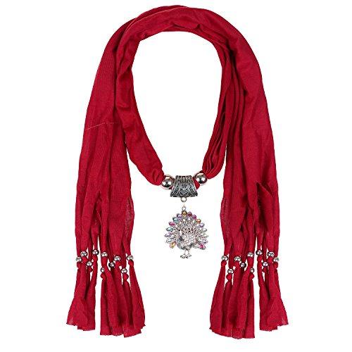 LERDU Infinity Rhinestone Teardrop Necklace product image