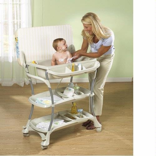 Primo Euro Spa Baby Bath and Changing Table for sale  Delivered anywhere in USA