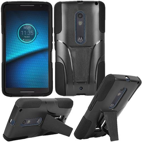Motorola Droid Turbo 2 Phone Case , [ Storm Buy ] Premium Hard & Soft Sturdy
