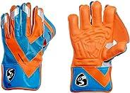SG Super Club Wicket Keeping Gloves, Men's (Orange/B