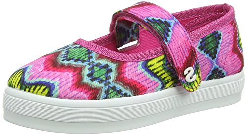 Desigual Mädchen Shoes_lona 3 Espadrilles Pink (3022 FUCHSIA ROSE)