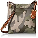 Tommy Hilfiger Camo Crossbody Bag for Women Julia, Green