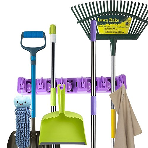 purple kitchen broom - 5