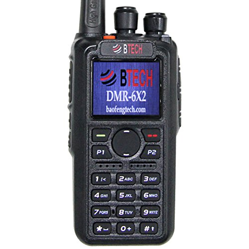 Kit Portable Gps - BTECH DMR-6X2 (DMR and Analog) 7-Watt Dual Band Two-Way Radio (136-174MHz VHF & 400-480MHz UHF), with GPS and Recording, Includes Full Kit with 2 Batteries, Programming Cable, and More