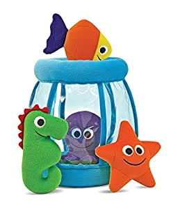 Melissa & Doug Deluxe Fishbowl Fill & Spill Soft Baby Toy