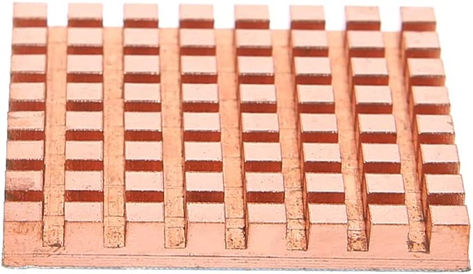 Baiko Pure Copper Radiator Back Memory RAM Sink Cooling for MOS IC Chip Heat Sink