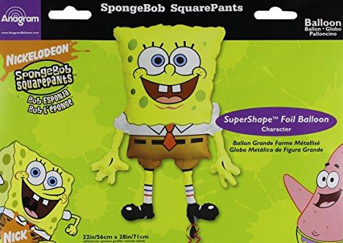 Anagram M6398 Spongebob Squarepants Supershape Foil Balloon, 28