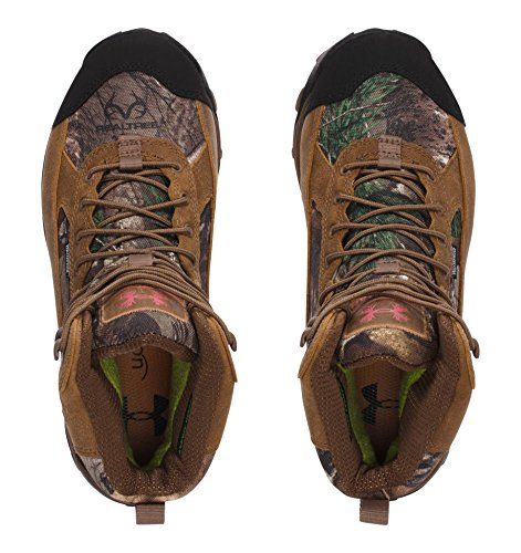 Under Armour UA Speed Freek Bozeman 600 Boot - Women's Realtree Ap-Xtra / Uniform / Perfection 9.5 by Under Armour (Image #3)