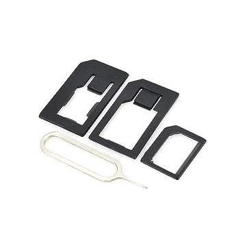 Adaptador tres en uno para adaptadores de tarjeta SIM para ...