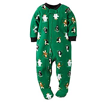 Amazon.com: Carter's Little Boys' Footie (Toddler): Clothing
