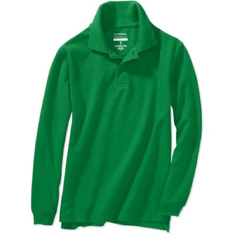 School Uniform Polo Shirts Long Sleeve