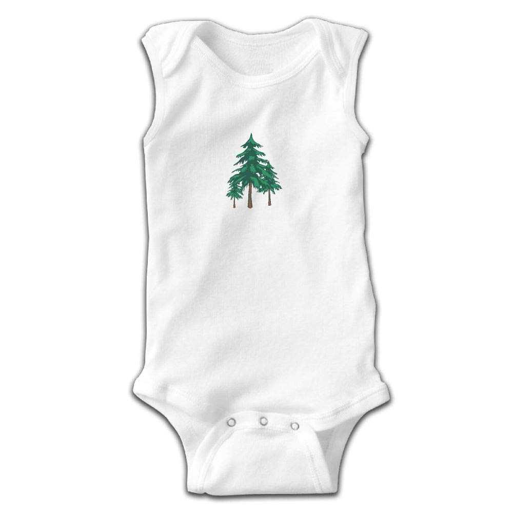 1abefd8508a Amazon.com  Natural Tree Forest Cute Infant Baby Boy Jumpsuit Sleeveless  Toddler Climb Crawling Kids Clothes  Clothing