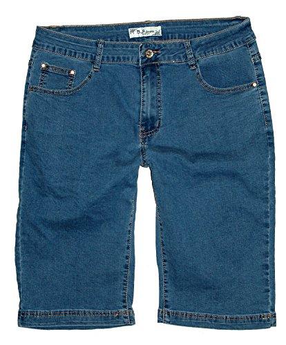 para Jeans Capri Vaqueros Mujer S B Stonewashed Azul zZq5nItw