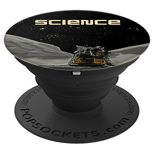 Lunar Lander Moon - Lunar Lander LEM - Apollo 11 NASA Mission to the Moon - PopSockets Grip and Stand for Phones and Tablets