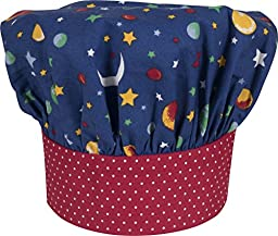 Handstand Kitchen Child\'s \'Stars and Planets\' Chef\'s Hat