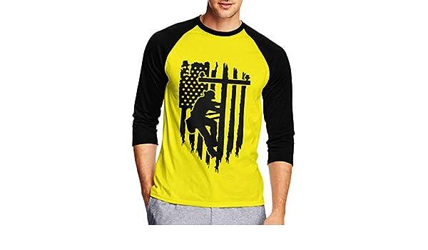 Hajotrawa Men Long Sleeve Casual Shirt Drawstring Cotton Linen T-Shirts