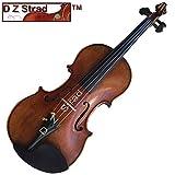 """Copy Guarnieri 'Del Gesu' 1742 """"Cannon"""" 4/4 Full Size Violin-Antique Style-D Z Violin #328"""