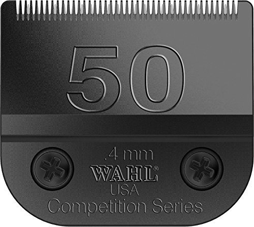 - Wahl Professional Animal #50 Ultra Surgical Ultimate Competition Series Detachable Blade with 1/64-Inch Cut Length (#2350-500)