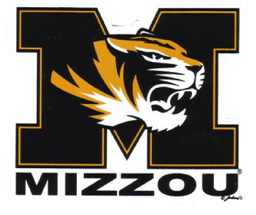 NCAA Missouri Tigers Car Magnet, Small, 2 Pack