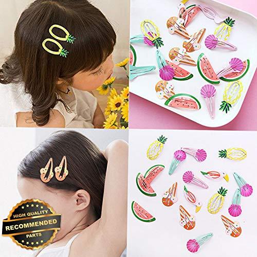 Gatton Premium New 6Pcs/set Cute Kids Watermelon Mermaid BB Hair Clips Baby Hairpins Headwear Gifts | Style HRCL-M182012580