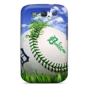 Galaxy S3 Case Cover With Shock Absorbent Protective Zjm202YFAL Case