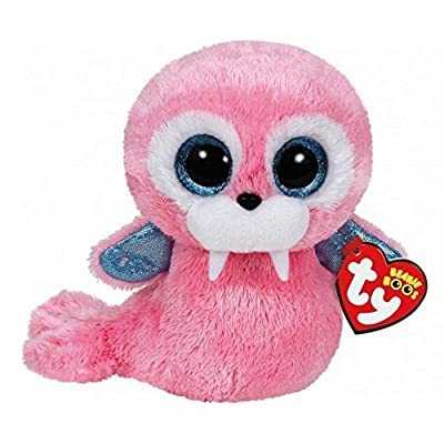 "Holland Plastics Original Brand TY Beanie Boos 6"" Tusk Walrus, Perfect Plush!: Toys & Games"