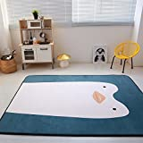 Enjoylife Super Soft/Fine Kids Baby Play Ground Mat Cute Animal Floor Mats for Bedroom Decor Penguin Carpet Children Living Room Rug