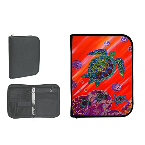 Innovative 3-Ring Binder Log Book With Insert Accessories-Rogest Turtle