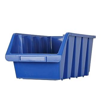Estantería Caja de almacenamiento (Caja DELEX-Rollen Caja 18 kg de carga Cajas apilables