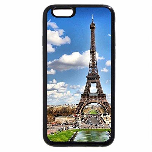 iPhone 6S / iPhone 6 Case (Black) Heart of Paris