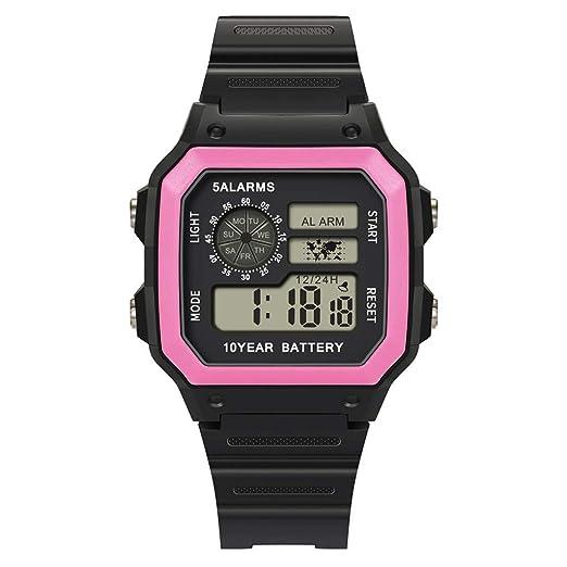 Reloj Smartwatch Hombre Reloj ElectróNico Impermeable 30M Deportes Reloj Digital MultifuncióN De Gama Alta Reloj Inteligente