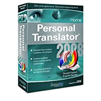 Linguatec Personal Translator 2008 Home Deutsch-Englisch