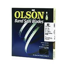 """Olson Flex Back Bandsaw Blade 82"""" L X 3/16"""" W X 10 Tpi Regular Tooth"""