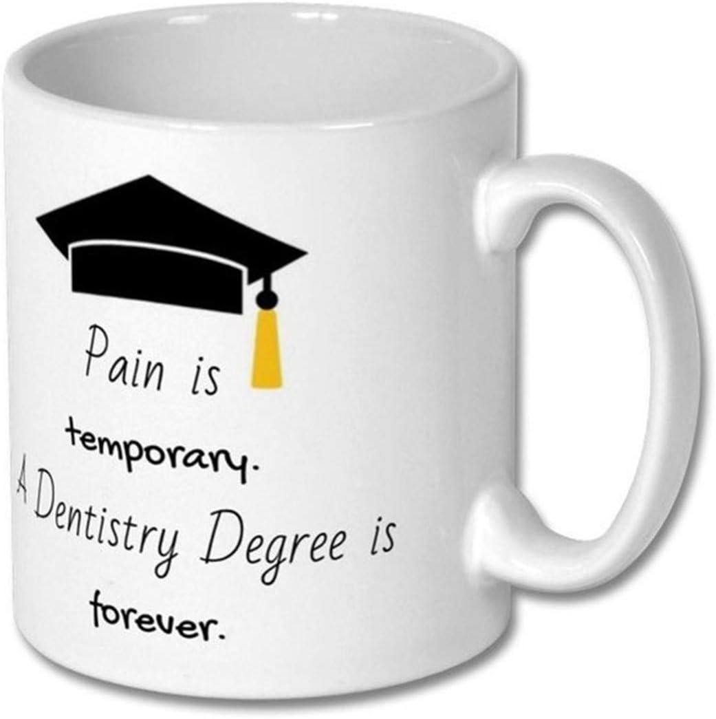 Taza de motivación para la escuela de odontología, regalo para estudiantes de odontología, estudiante de odontología, estudiante de odontología, taza de escuela dental, futuro dentista
