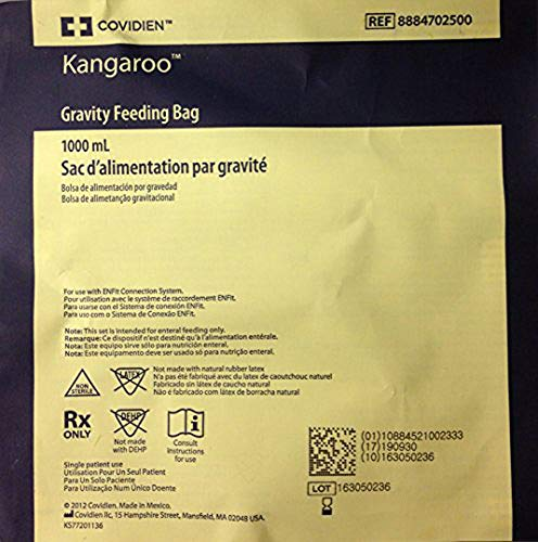 1000ml Gravity Feeding Bags 30 Count
