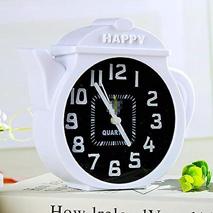 Amazon.es: Driverder Reloj de Alarma Lindo y Compacto de ...