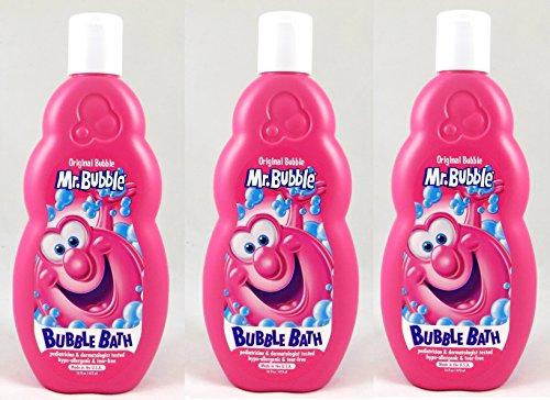 Mr. Bubble Original Bubble Bath, 16 Oz (Pack of 3) by Mr. Bubble