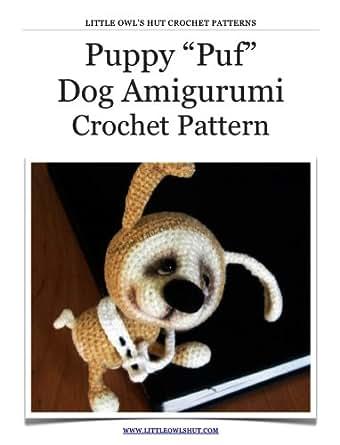 Puppy dog Puf Crochet Pattern Amigurumi toy (LittleOwlsHut