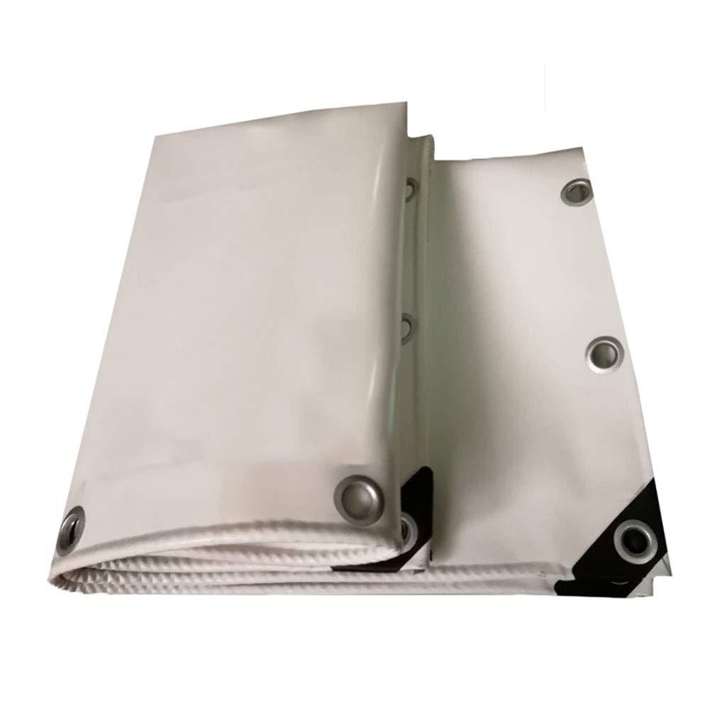 Plane Hochfeste Silk haltbare Anti-Altern perforierte Freien 650g / ㎡, weiß, doppelseitig 100% wasserdicht