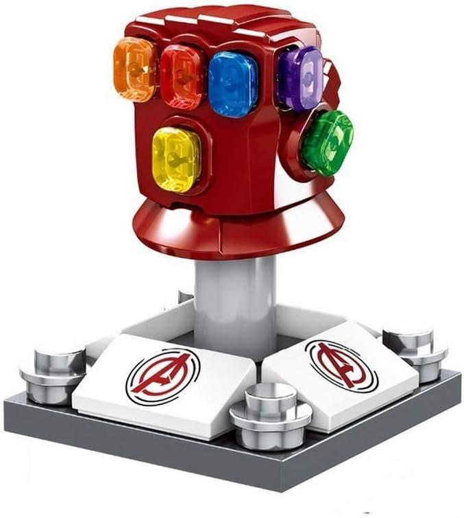 069 DEERO Personaje de Gran tama/ño Capit/án Am/érica Thor Iron Man Dr Strange Loki Hulk Thor Thanos Dealpool Modelo Figura Bloques Juguetes para ni/ños