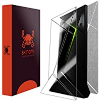 Skinomi TechSkin - NVIDIA Shield TV Brushed Aluminum Full Body Skin Protector / Front & Back Wrap / Premium HD Clear Film / Ultra Invisible and Anti-Bubble Shield