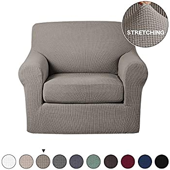 Amazon Com Turquoize Armchair Slipcover 2 Piece Couch