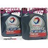 GRAN OFERTA * 2X Aceite de motor TOTAL QUARTZ INEO ECS 5W30 10 litros