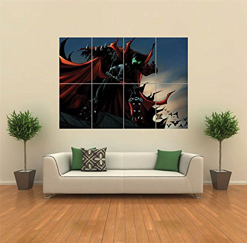 SPAWN COMIC SUPER HERO NEW GIANT LARGE ART PRINT POSTER PICTURE WALL - Art Comic Spawn